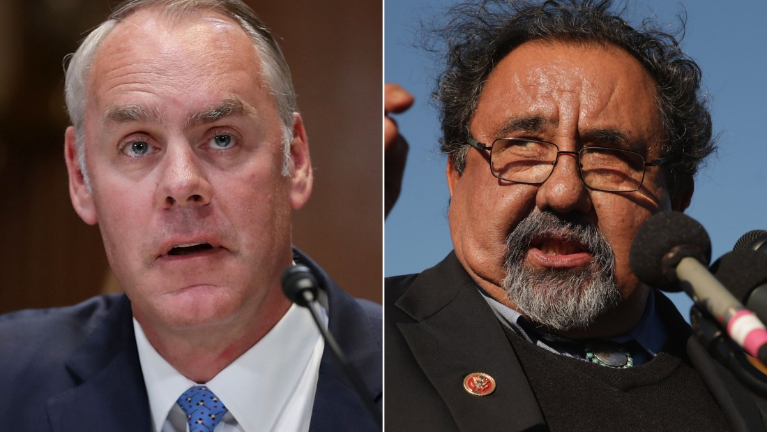 Zinke jabs at Dem calling on him to resign