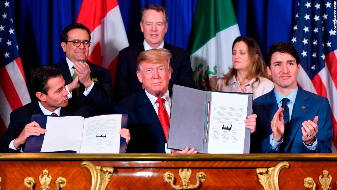 Fact-check: Is Trump's NAFTA replacement already creating jobs?