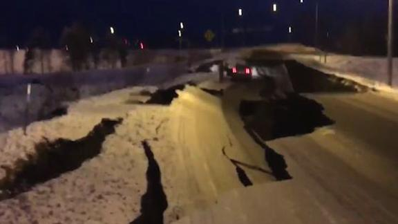 Highway Alaska damage