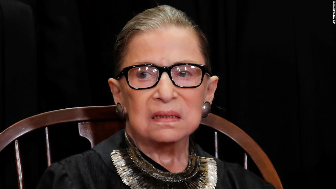 Ruth Bader Ginsburg returns to Supreme Court
