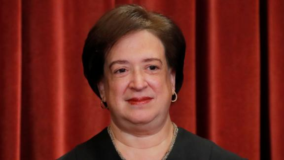 U.S. Supreme Court Associate Justice Elena Kagan is seen during a group portrait session for the new full court at the Supreme Court in Washington, U.S., November 30, 2018. REUTERS/Jim Young
