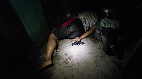 "Shocking images like this one have become a common sight due to Philippines President Rodrigo Duterte's two-year ""drug war."""