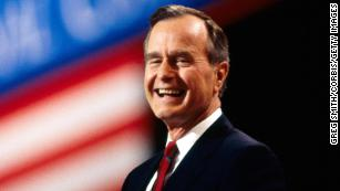 President George H.W. Bush's life in pictures