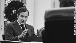 George H.W. Bush was the exact political opposite of Donald Trump