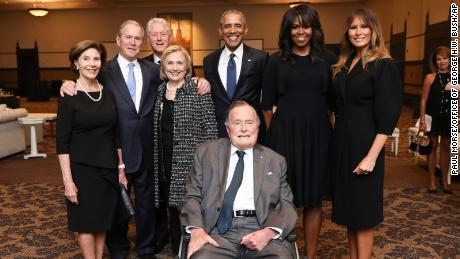 Political world react to George H.W. Bush's death