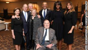 Family and political world react to George H.W. Bush's death