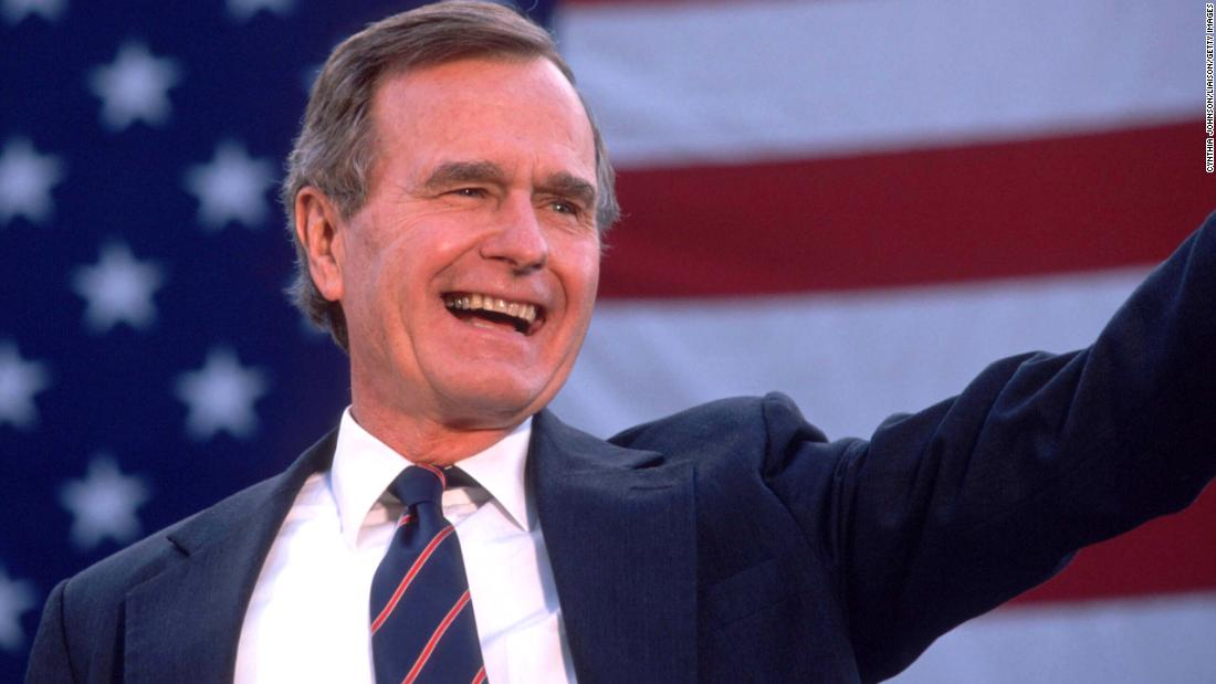 "<a href=""https://www.cnn.com/2018/12/01/politics/george-h-w-bush-dead/index.html"" target=""_blank"">George Herbert Walker Bush</a>, the 41st President of the United States and the patriarch of one of America's dominant political dynasties, died November 30 at the age of 94."