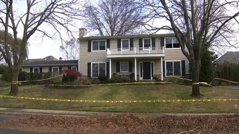 A fire started at Paul Caneiro's home in Ocean Township while the family was sleeping. They escaped were unharmed.