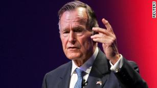 The nation honors President George H.W. Bush