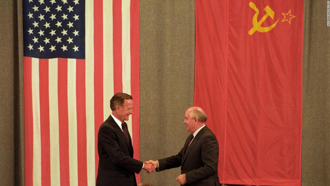 Image result for bush won the cold war