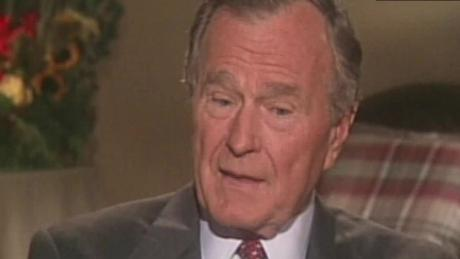 Why George H W Bush Wanted Trump At His Funeral Cnnpolitics