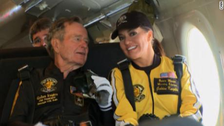 Robin Meade Remembers Skydiving With Bush Cnn Video