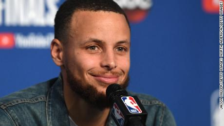 NBA player Steph Curry says he was joking in podcast where he made comments about the moon landing.