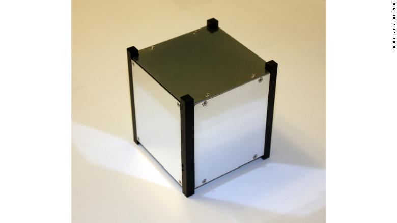 The Elysium Star 2 cubesat.