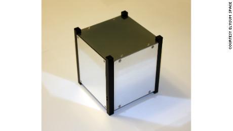 The Elysium Star 2 cubesat.