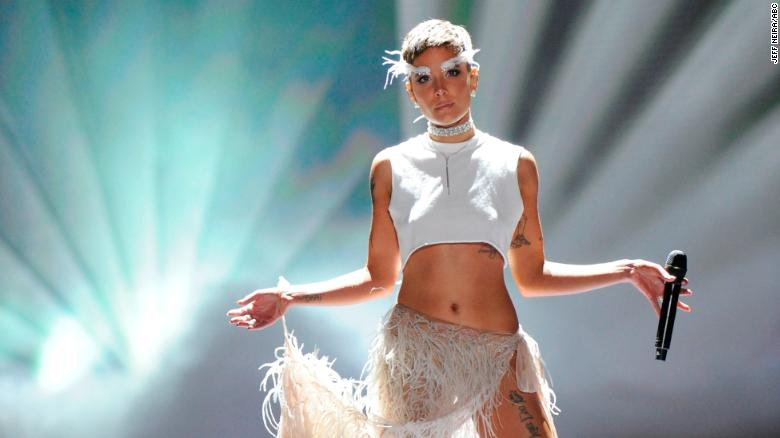 Halsey S Message For Victoria S Secret Fashion Show Cnn