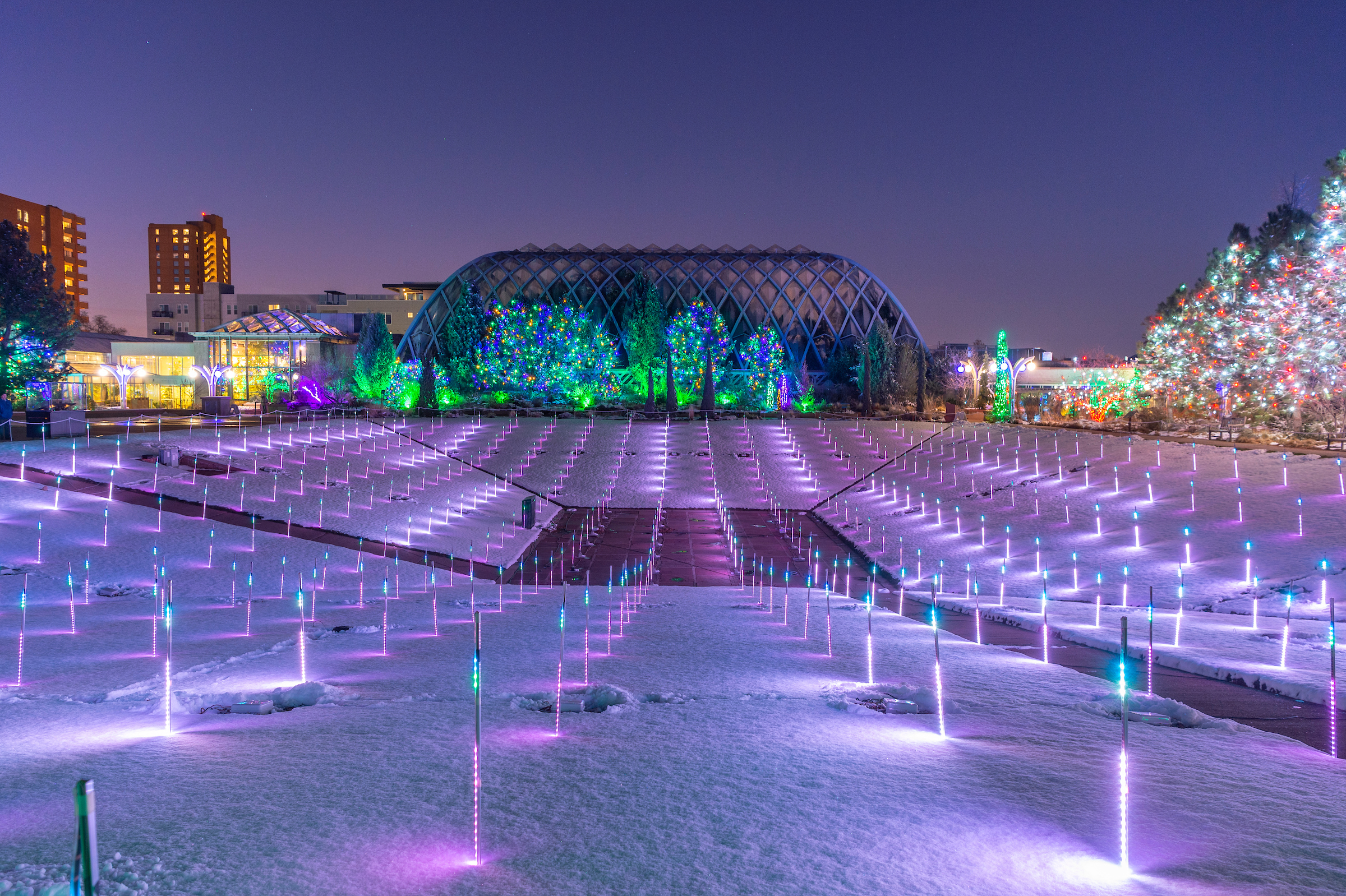 9 Best Places To See Christmas Lights In The Usa Cnn Travel