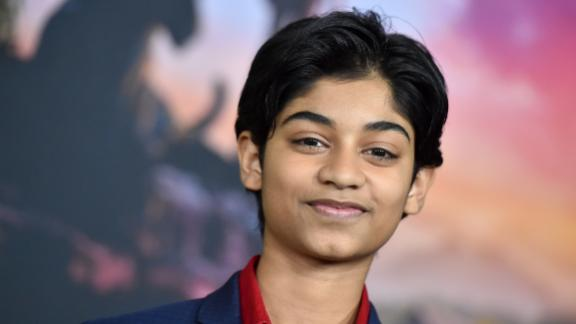 """Rohan Chand, who stars in the film """"<a href=""""http://www.cnn.com/2018/11/29/entertainment/mowgli-review/index.html"""" target=""""_blank"""">Mowgi: Legend of the Jungle</a>,"""" will introduce one of the CNN Heroes Young Wonders."""