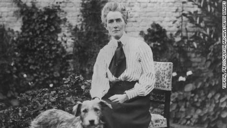 British nurse Edith Cavell was sentenced to death by a German military court and executed October 12, 1915.