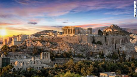 Greece has ancient ruins like the Parthenon, plus some of Europe's loveliest islands.