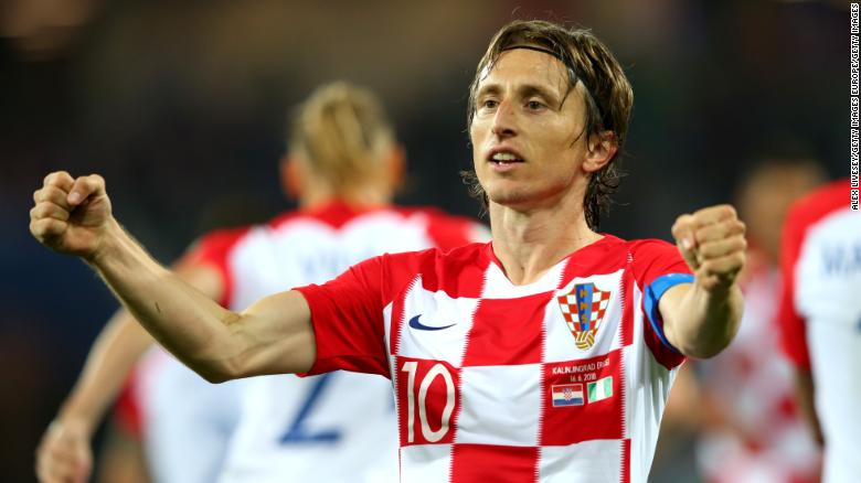 Modric was instrumental in Croatia's progress to the World Cup final