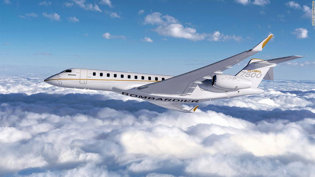 New private jet shakes up the skies
