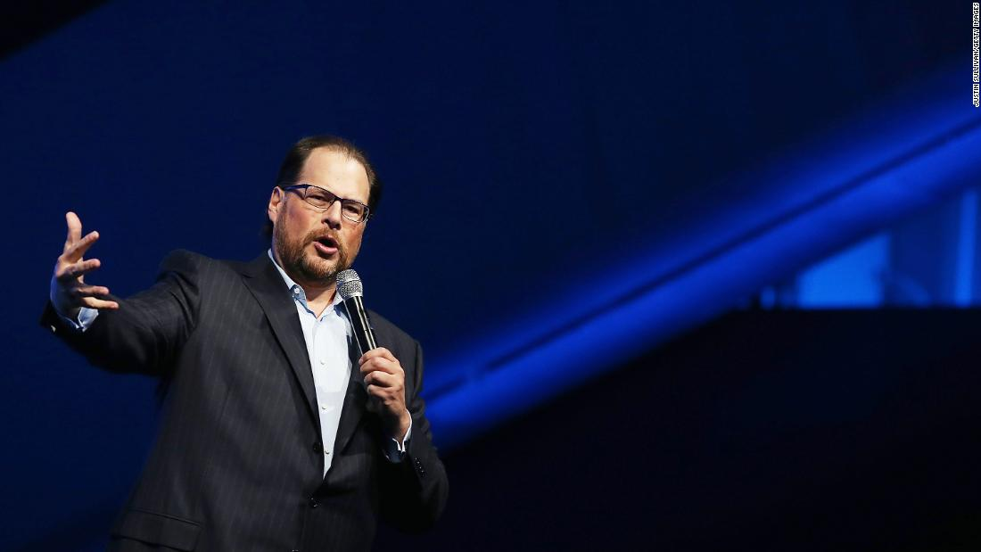 Marc Benioff says capitalism, as we know it, is dead