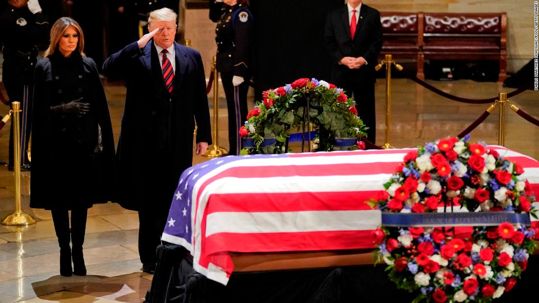 George HW Bush funeral: Former presidents, world leaders to attend