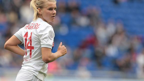Hegerberg was named the BBC's women's footballer of the year in 2017.