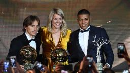 As a female footballer it's 'impossible to not be standing for equality,' says Ada Hegerberg
