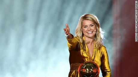 Ballon d'Or winner shines despite sexism gaffe