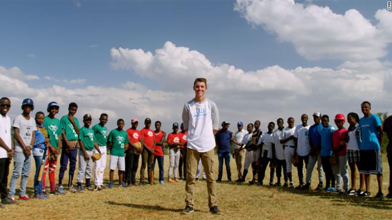 "Max Bobholz, 18, started <a href=""http://angelsatbat.yolasite.com/"" target=""_blank"">Angels at Bat</a>, a nonprofit that collects and delivers baseball equipment for children in Kenya. A light bulb went off as he watched a Ugandan team play in the 2012 Little League World Series: ""[T]hey had stories of where the teams came from. And not everybody had enough balls to play and no uniforms, no hats, no shoes,"" Max says. ""I know I had that in my garage. I knew all my friends had it in their garage. And I thought why don't we gather that together and send it to the kids in Africa so they can play."""