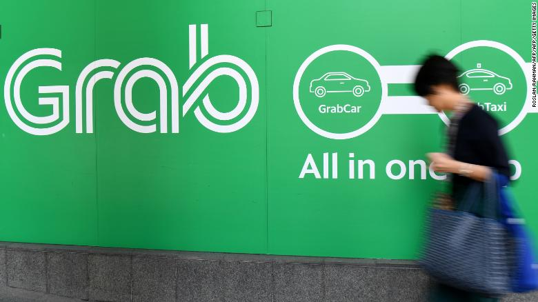 Grab's office in Singapore. The tech startup took over Uber's operations in eight Southeast Asian countries earlier this year.