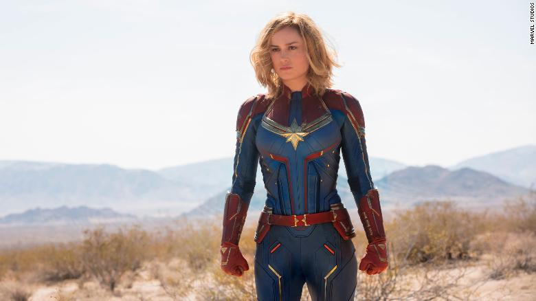 """Brie Larson starred in Marvel Studios' """"Captian Marvel."""" The film, in which Larson played Carol Danvers, was one of the top-grossing films of 2019."""