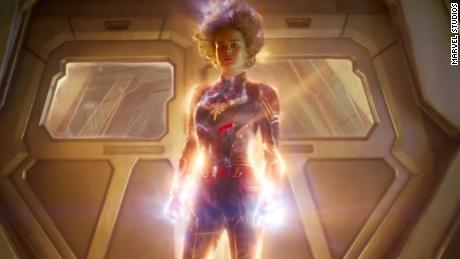 Brie Larson as 'Captain Marvel'