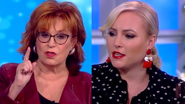 Image result for Meghan McCain lashes out at Joy Behar during debate on 'The View'