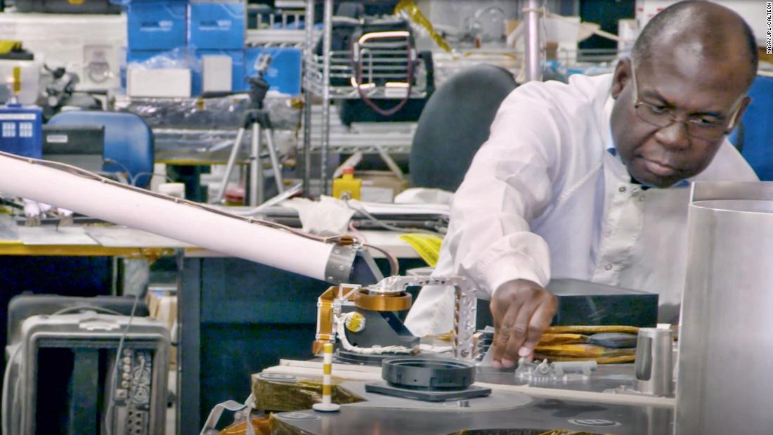 Meet the engineer behind NASA's robotic arm for Mars