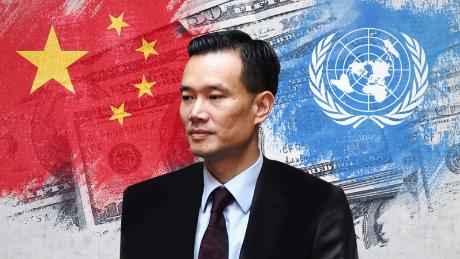 "RELATED ARTICLE: <a href=""https://www.cnn.com/interactive/2018/12/asia/patrick-ho-ye-jianming-cefc-trial-intl/"" target=""blank"">The rise and fall of a Belt and Road billionaire</a>"