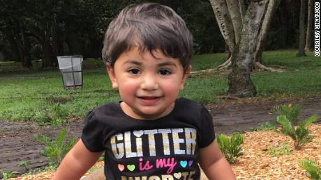 Zainab Mughal, 2, is sick and needs a blood donor with the same rare blood she has.  A global search is underway.