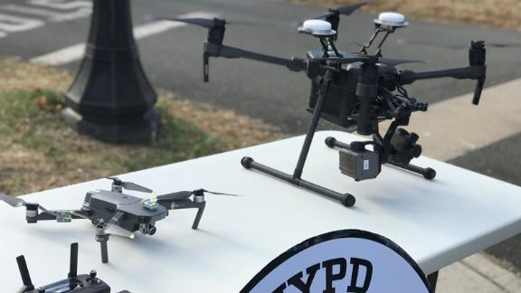 The NYPD unveiled a new drone program