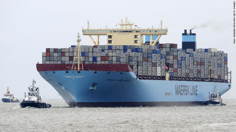 Image result for maersk carbon free shipping