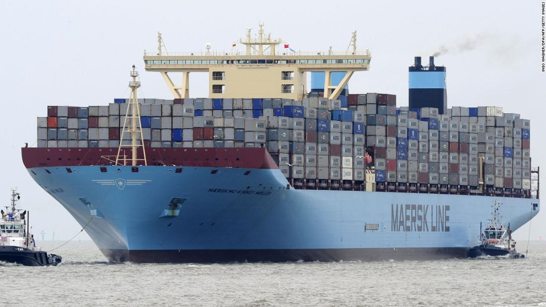 Maersk wants to slash carbon emissions from shipping to zero. But it needs help - CNN thumbnail