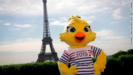 'Ettie' is the daughter of the mascot for France 1998