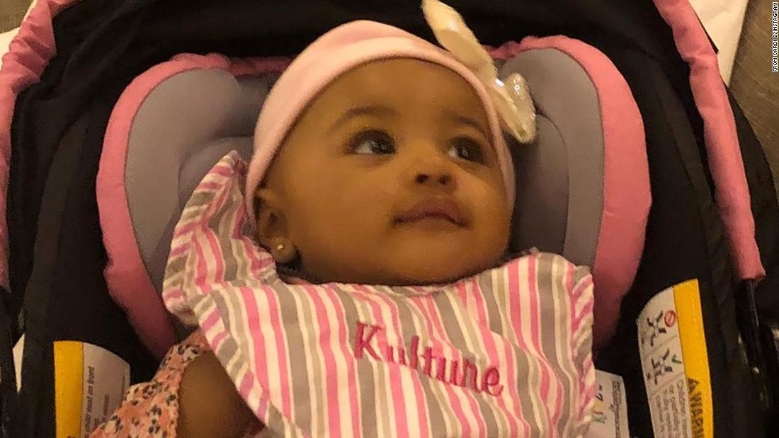 Cardi B Shares First Photo Of Her Daughter Kulture Kiari Cnn