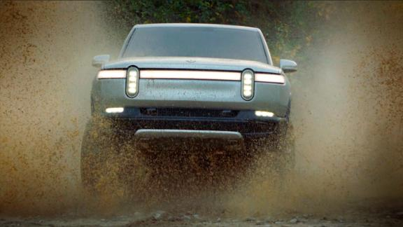 The Rivian R1T all electric truck