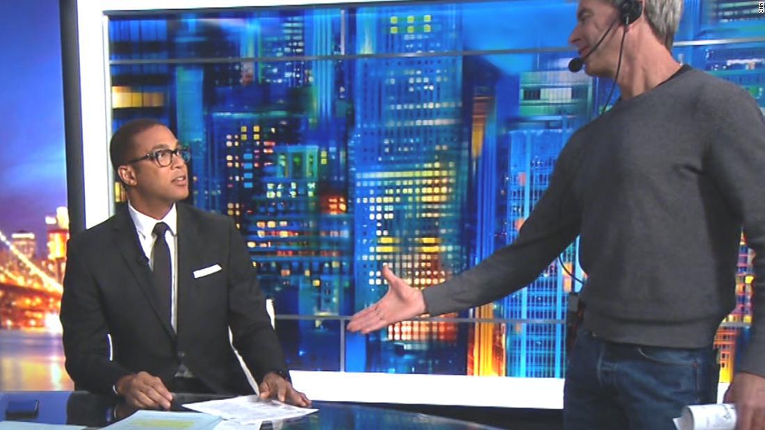 Lemon shows how Obama should've greeted Trump - CNN Video