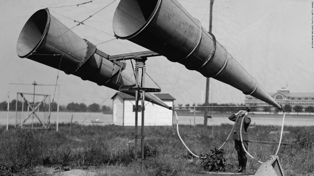 The 'war tubas' we used to spot warplanes before radar - CNN