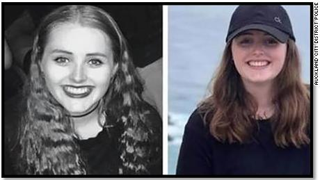 Grace Millane has been missing in New Zealand since December 1.
