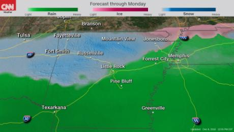 Snow to blanket the South this weekend in major winter storm