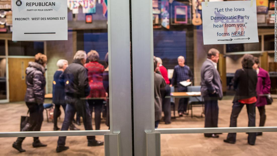 Democratic National Committee Stimmen gegen virtuelle caucusing